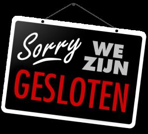 sorry-we-zijn-gesloten